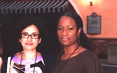 """Une équipe féminine venue de France et de Martiniue à la tête d'un réceptif US qui a fait son chemin. Muriel Semama (à gauche) et Erika Elisabeth. Crédit """"Harlem Spirituals""""."""