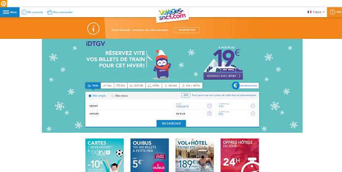 Voyages-SNCF signe un accord de distribution avec Eurolines et isilines - Capture d'écran