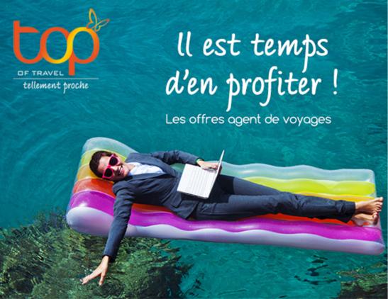 Offres spéciales TOP of travel  agents de voyages - DR