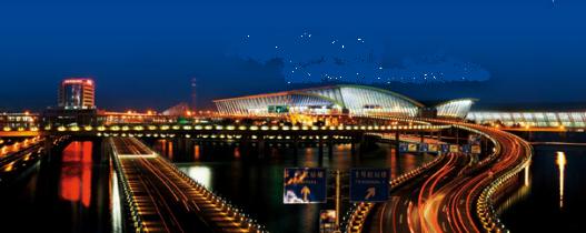 Il faut passer par des contrôles pour entrer dans l'aéroport de Shanghai-Pudong depuis le 12 juin 2016 - Photo : DR