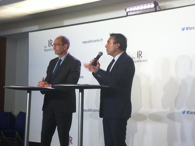 Yves Coulon et Eric Woerth présentent leurs projets pour le tourisme. DR-LAC