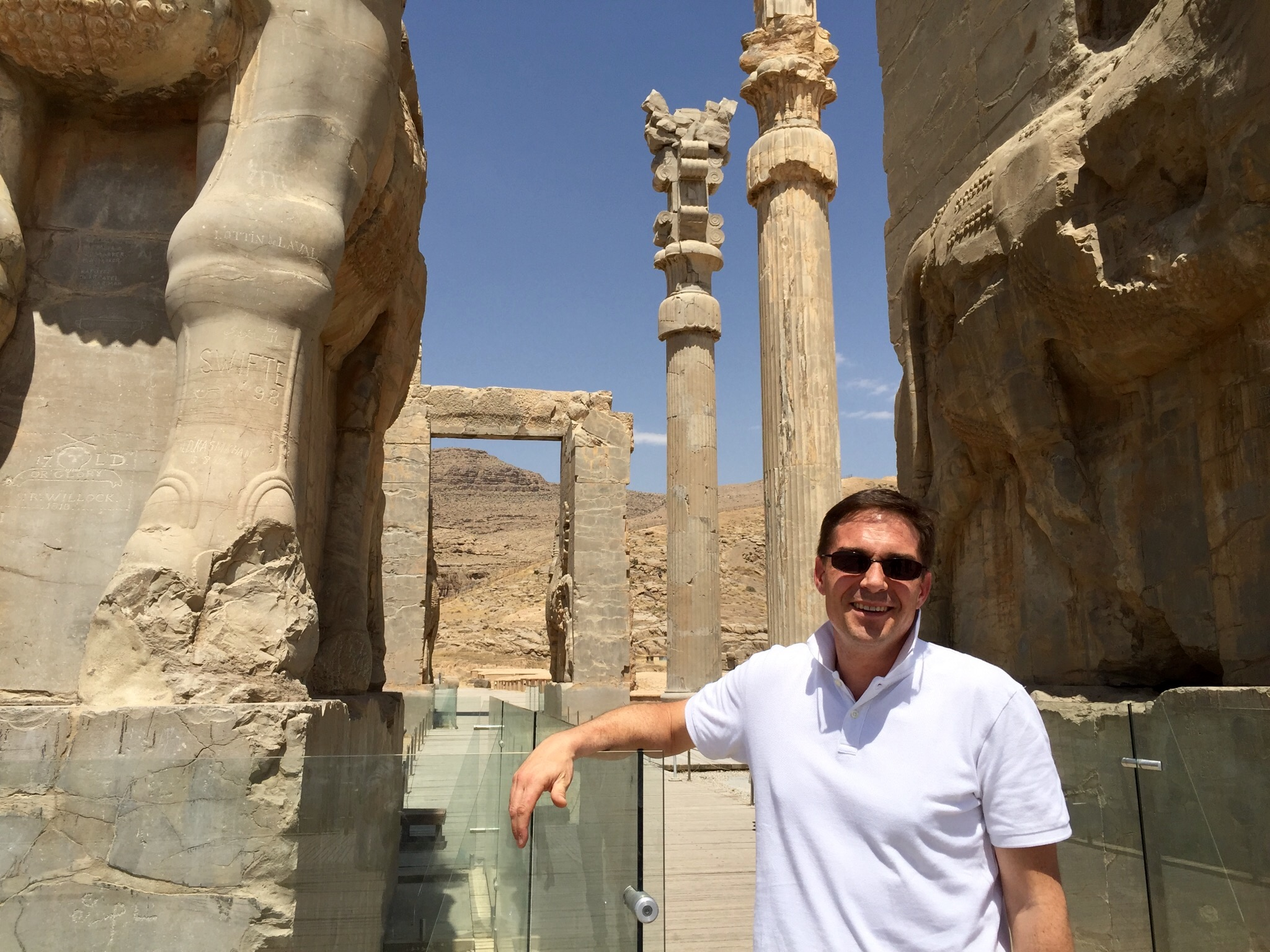 Guillaume ARENAS, directeur commercial & Marketing France de Ukraine International Airlines, travaille sur un projet de desserte de Shiraz pour 2017 /photo JDL
