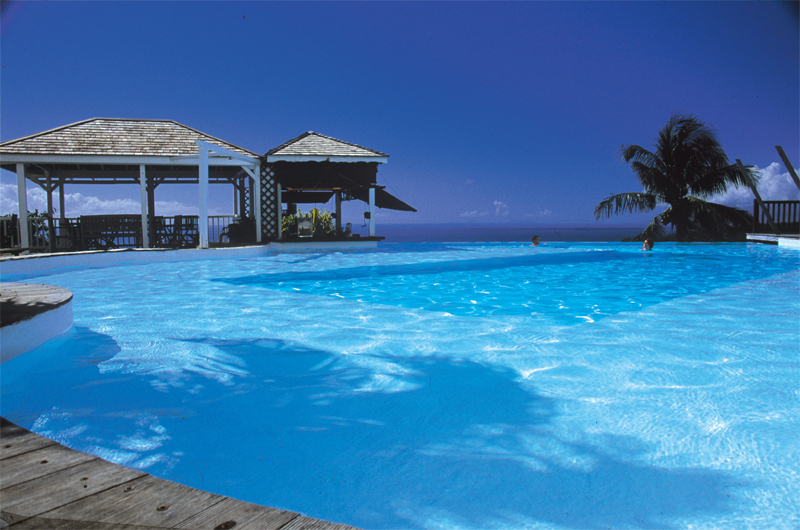 La piscine du Toubana hôtel & Spa