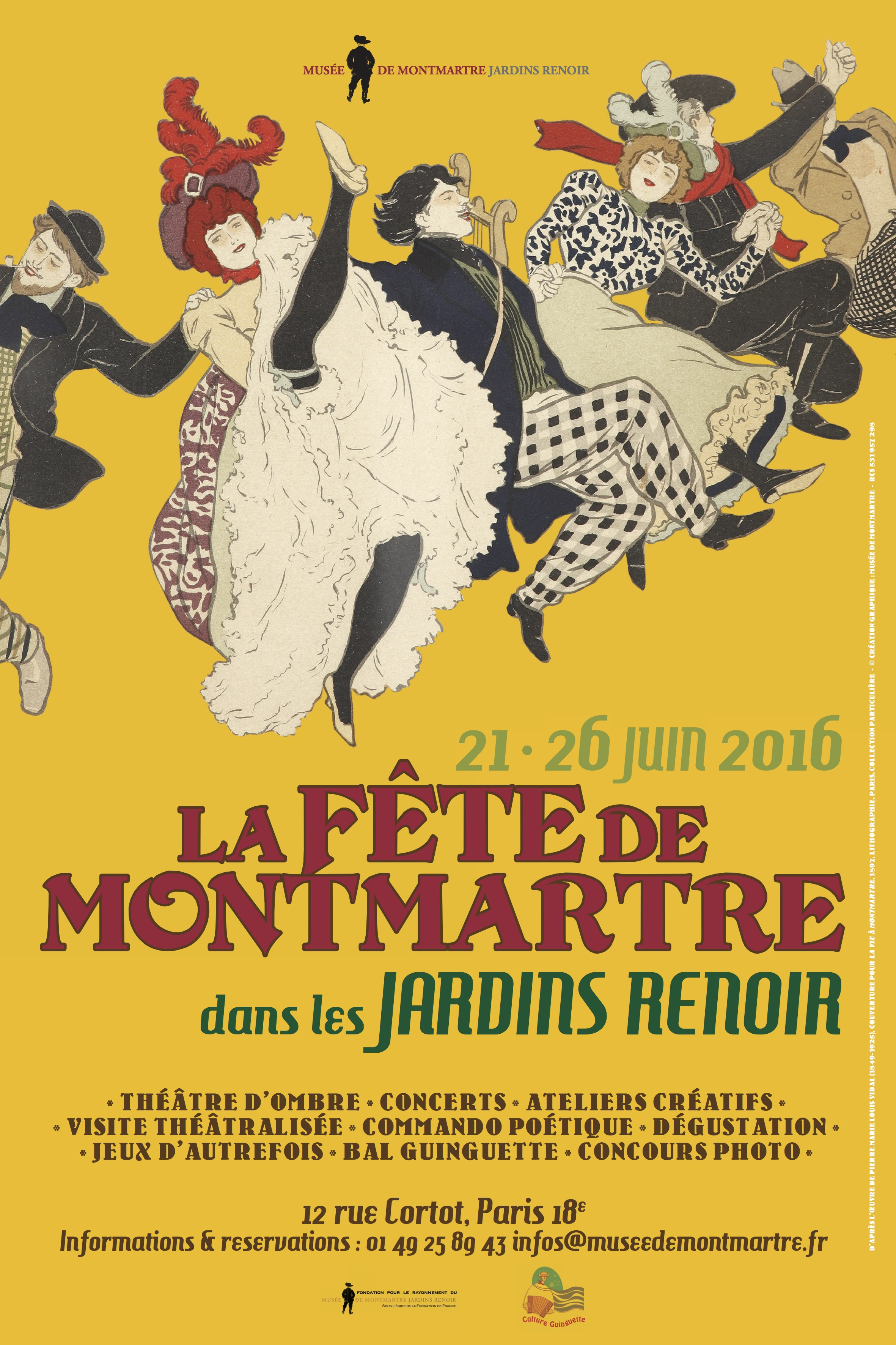 Paris : c'est la fête à Montmartre !