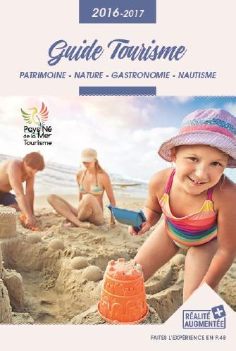 La couverture du guide touristique de l'OT du Pays Né de la Mer - DR : OT du Pays Né de la Mer