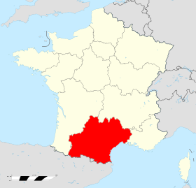 L'Occitanie sera le nom de la nouvelle région qui regroupe le Languedoc-Roussillon et Midi-Pyrénées - DR : WIkipedia