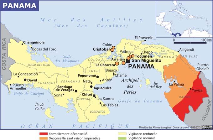 """Malgré un """"niveau de sécurité (qui) demeure globalement satisfaisant"""", certaines zones restent déconseillées selon le MAE"""