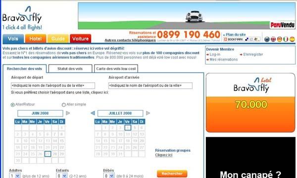 Bravofly.fr passe la vitesse supérieure sur le marché français