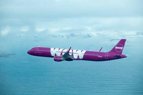 Les vols de WOW Air vers New-York débuteront le 25 novembre 2016 - Photo : WOW Air
