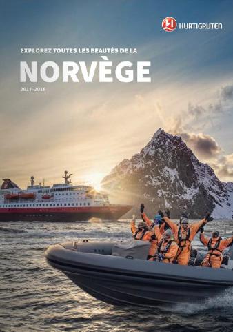 La nouvelle brochure 2017/2018 d'Hurtigruten est en agences de voyages depuis la mi-juillet 2016 - DR : Hurtigruten
