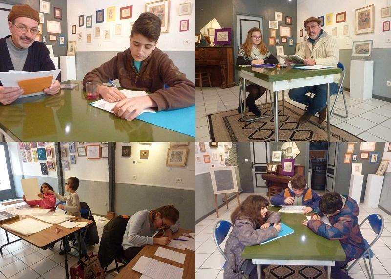 Atelier d'écriture - DR