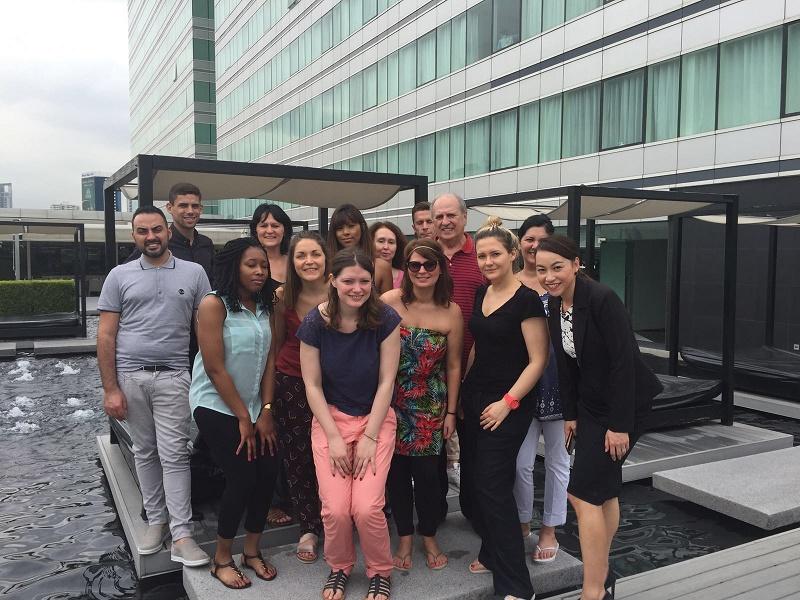 19 agents de voyages ont participé à l'éductour Thaïlande, du 19 au 26 juin 2016, avec SriLankan Airlines, les hôtels Centara et Bangkok Airways - DR : J.-P.C.
