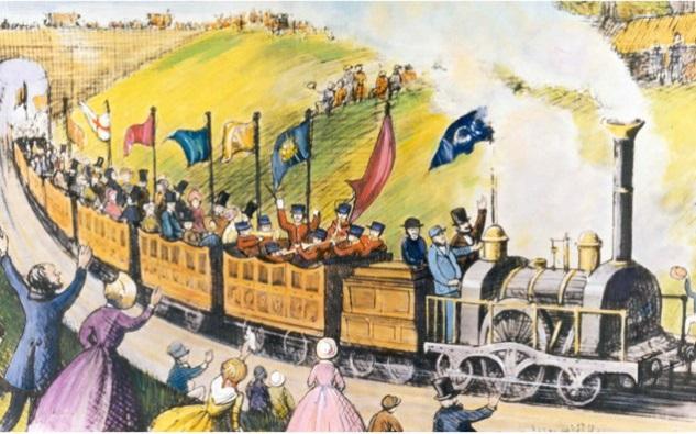 Image se rapportant au premier voyage organisé par Thomas Cook en train - Image Thomas Cook Group