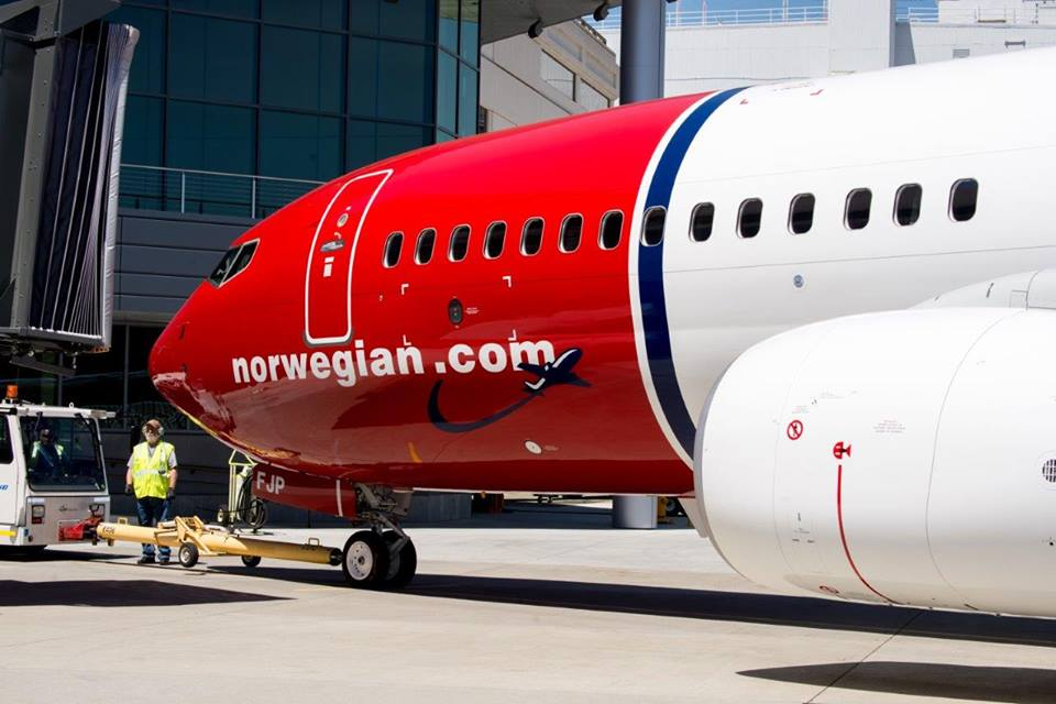 Norwegian a souhaité un droit de réponse - Photo Facebook Norwegian