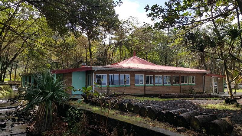 Le restaurant l'Anse des Cascades - DR : A.B.