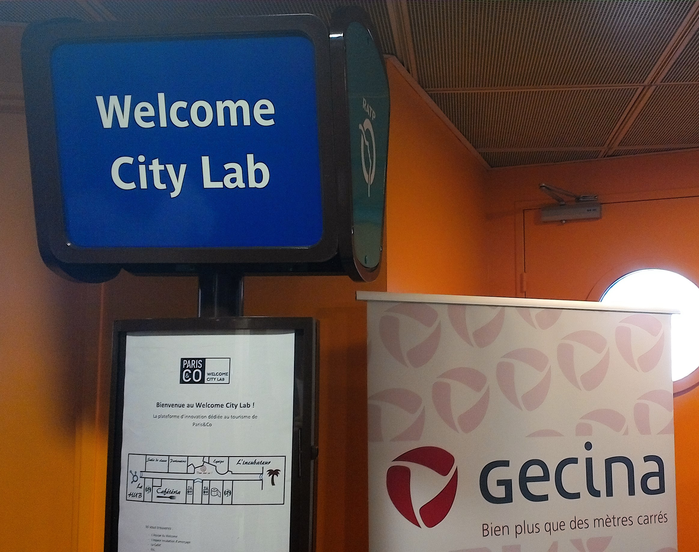 Paris&Co et Gecina installent le Welcome City Lab au sein des Tours Gamma (c) Johanna Gutkind