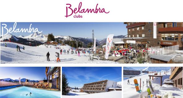 Belambra booste son offre de clubs dans les Alpes françaises - DR : Belambra