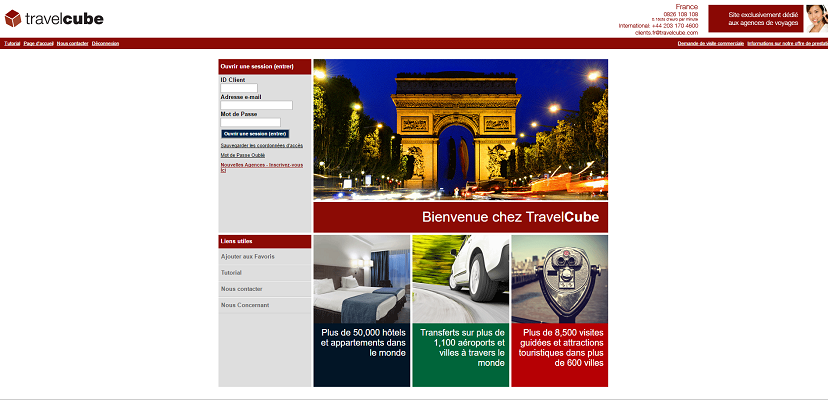 TravelCube booste ses vacances avec l'augmentation de son offre balnéaire en 2016 - Capture d'écran