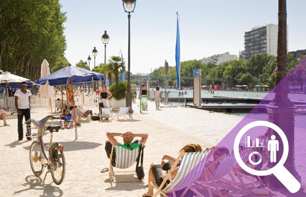 Les arrivées hôtelières ont enregistré une baisse limitée de -1,3 % dans le Grand Paris © OTCP Marc Bertrand