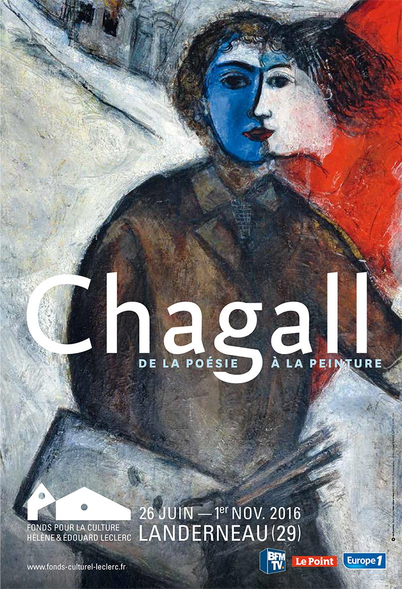 """Landerneau (Finistère) : exposition Chagall """"De la poésie à la peinture"""""""
