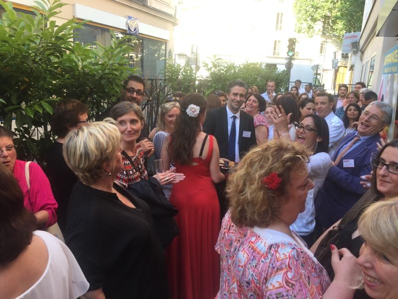 Jancarthier a accueilli, jeudi 7 juillet 2016, près de 90 clients dans son agence du 11ème arrondissement parisien - DR : Jancarthier