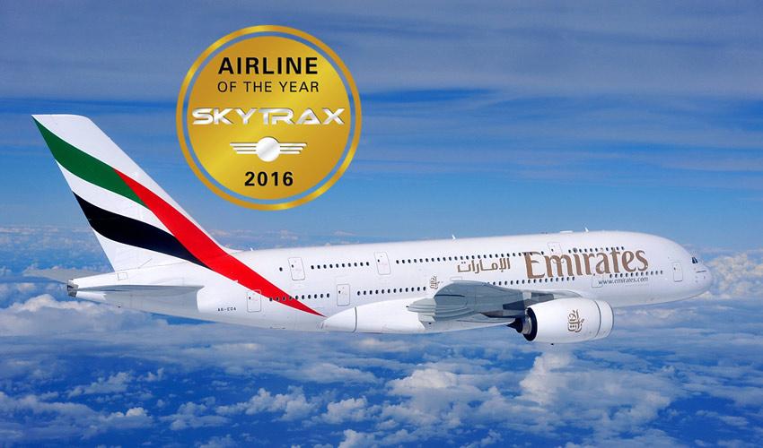 La meilleure compagnie aérienne au monde est Emirates en 2016  - DR