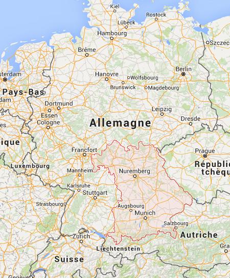 Un jeune homme Afghan a attaqué des passagers à bord d'un train en Bavière en Allemagne, avec une hache - Photo Capture écran