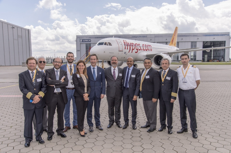 Pegasus reçoit son premier A320neo - Photo Pegasus Airlines