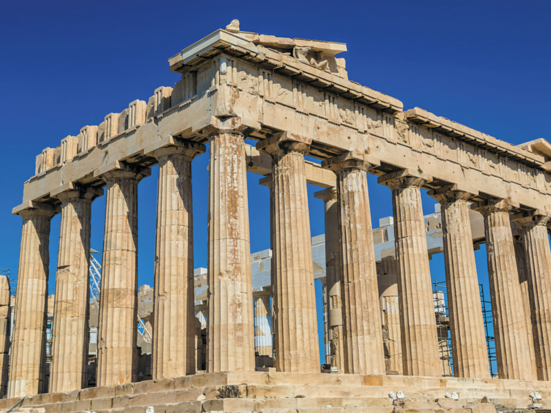 Le Parthénon © fotolia : Figurnyi