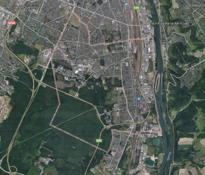 Saint-Etienne-du-Rouvray est situé à côté de Rouen - DR