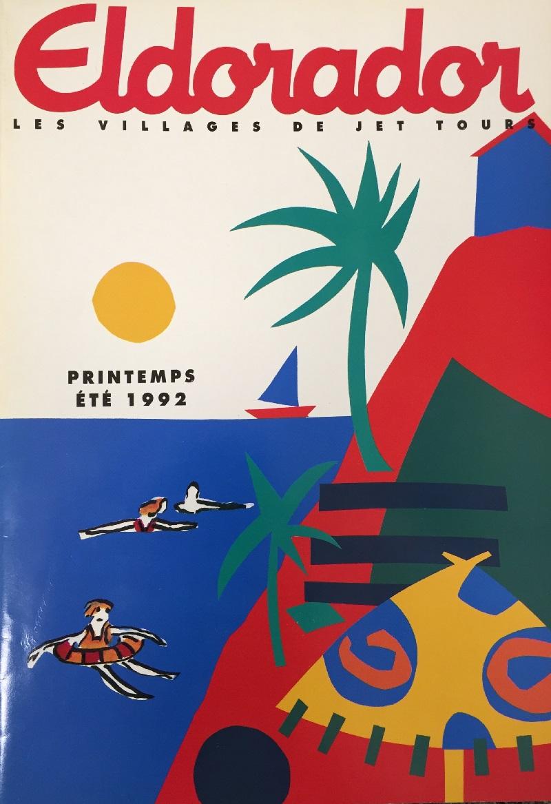 Couverture de la brochure Eldorador en 1992 - DR : Jet tours