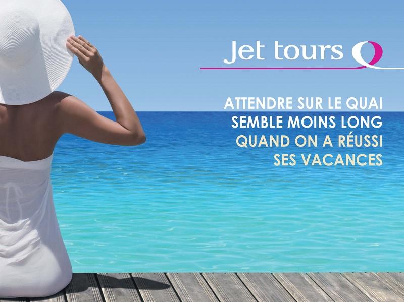 Campagne publicitaire de Jet tours en 2013 - DR : Jet tours