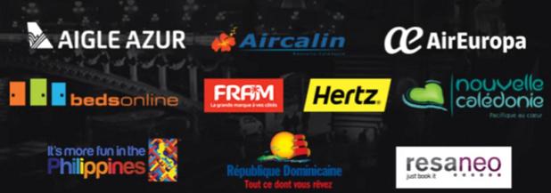 Les sponsors de la plus grosse soirée du tourisme - DR