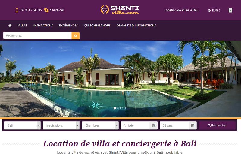 Shanti-villa.com, agence de location de villas et de conciergerie de voyage à Bali et en Asie - DR