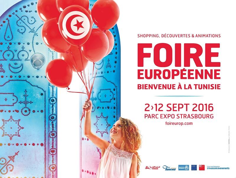 Strasbourg : la Tunisie à l'honneur lors de la Foire européenne