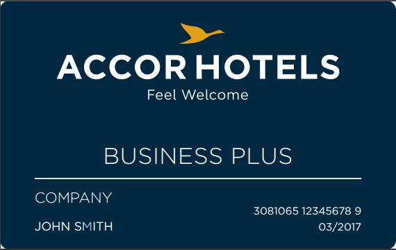 Business Plus, la nouvelle carte d'AccorHotels