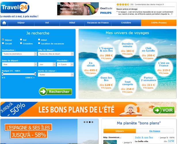 Travel24 jette l'éponge sur le marché français