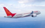 Air India positionne le B787-800 Dreamliner en Asie et en Australie