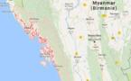 Birmanie : le Quai d'Orsay déconseille les déplacements dans le Nord de l'Etat de Rakhine