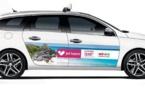 Jet tours et l'OT du Mexique s'affiche sur les taxis parisiens