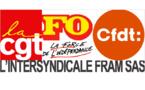 FRAM : l'intersyndicale CGT, FO, CFDT appelle à la grève le 24 novembre 2016