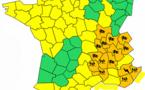 Vent, pluie et orages : 15 départements en vigilance orange ce lundi 21 novembre 2016