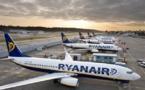 Ryanair : +15 % de passagers en novembre 2016