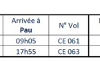 Chalair Aviation : nouvelle ligne Nantes - Pau