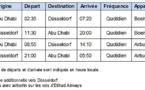 Etihad Airways double ses fréquences entre Abu Dhabi et Düsseldorf