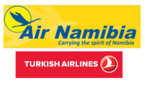 Air Namibia et Turkish Airlines en code-share