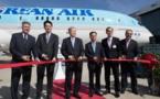 Korean Air réceptionne son premier appareil B787-9 Dreamliner