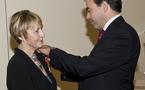 Logis : Jacqueline Roux, Chevalier dans l'Ordre de la Légion d'Honneur