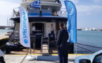 Héliadesnaviguera au Cap Vert à bord de l'Harmony G (vidéo)