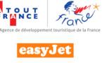 easyJet partenaire d'Atout France pour promouvoir le tourisme en France